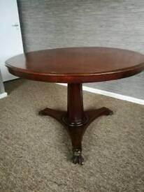 Rosewood tilt top table