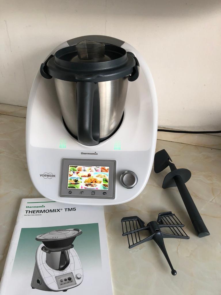vorwerk thermomix tm5 food processor for sale in ealing. Black Bedroom Furniture Sets. Home Design Ideas
