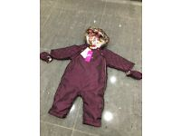 Ted Baker Snowsuit 9-12 Months : Immaculate Condition