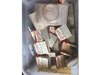 25 packs of hooks and 5 packs of hooks to nylon all new pack unopened