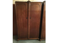 Wooden wardrobes old fashon style