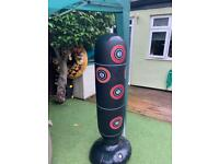 Blow up boxing stand