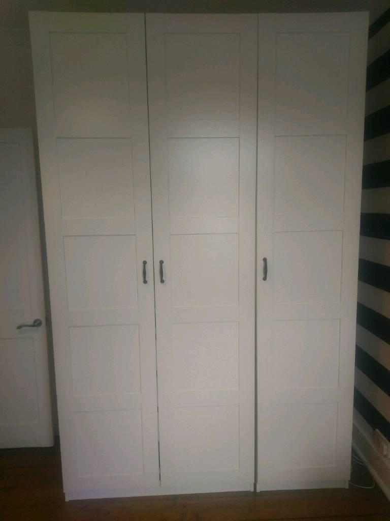 Ikea pax triple wardrobe in hertford hertfordshire for Ikea wardrobes pax