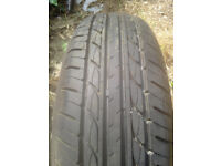 185 65 15 88H Duro DP3000 Tyre M+S (all season) Tyre Has had very little use. No damage or repairs