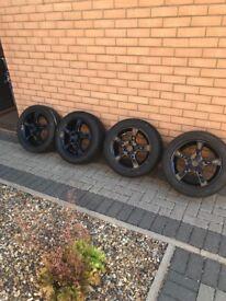 4 x 15in 5 Spoke Alloy Wheels