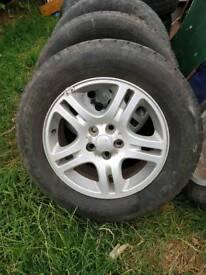 4 X landrover wheels