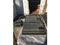 2 x Behringer Eurodesk MX8000/MX8000A Mixing Desks (used with monitors - please see other ad)