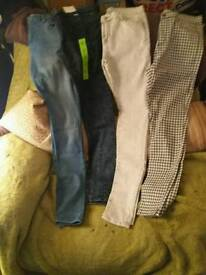 4 pairs of brand new jeans size 12