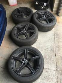 BMW 3 series alloy wheels mint condition