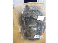 Brand new camouflage rucksack