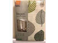 Dunelm 66x72 regan curtains new