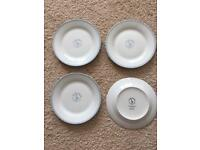 Brand new never used set of 8 Mary Berry GBBO dessert plates