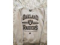 Mens Medium Oakland Raiders Jumper