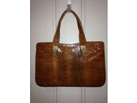 VINTAGE Italian Purse/Handbag, Snakeskin