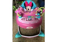 Minnie Mouse baby lights and sounds walker