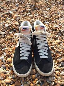 Nike Blazers High Top Size 8 Black