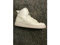Men's White Air Force 1 Trainers