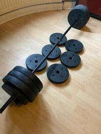 50kg WEIGHTED PLATES CASH ONLY