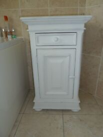 Shabby Chic Bedside / Bathroom Cabinet