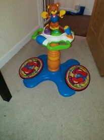 Vtech baby sit to stand dancing tower