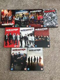 Entourage - Complete Season 1-8 Dvd