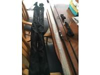 3x Greys aircurve carp rods never used 3.25