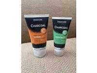 Creightons charcoal face scrub & clay mask