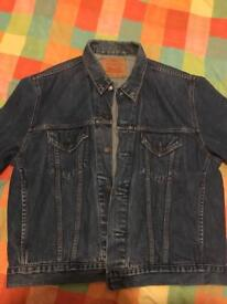 Levi's denim jacket. Vintage