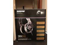 SHURE SRH840 PROFFSIONAL STUDIO HEADPHONES !!!!!!!!