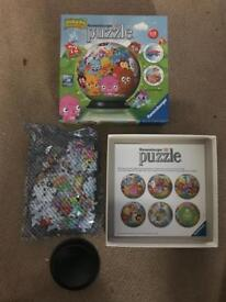 3D Moshi monsters puzzle