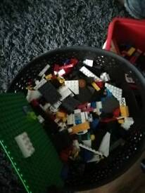 Tubs of Lego