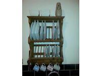 Penny plate rack