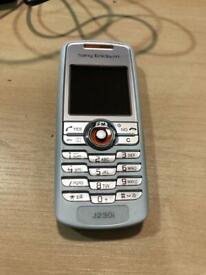 Sony Ericsson J230i - Black (Unlocked) Mobile Phone