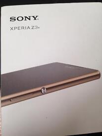 Big Sony Xperia z3 plus unlocked