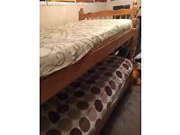 Single bed frame x2