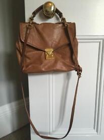 Topshop brown leather bag