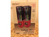 Colour jets Light display speakers BNIB