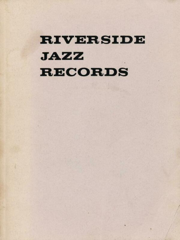 RIVERSIDE JAZZ RECORDS by Shinjiro Furusho jazz record label discography book
