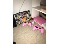 Pink PlayStation 2 Slimline Limited Edition