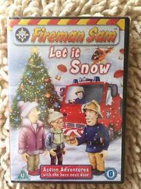 Fireman Sam DVD. New