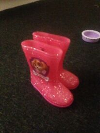 Kids paw patrol wellingtons