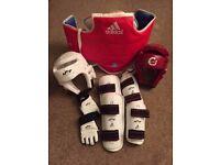 Taekwondo fight kit Kids Size. Martial Arts. Offers?