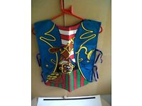 4SALE,4 NEW CHILDRENS,PIRATE WAIST COAT,ONLY £1 EACH SET