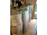 4 Rolls Knauf earthwool insulation - 150mm thick