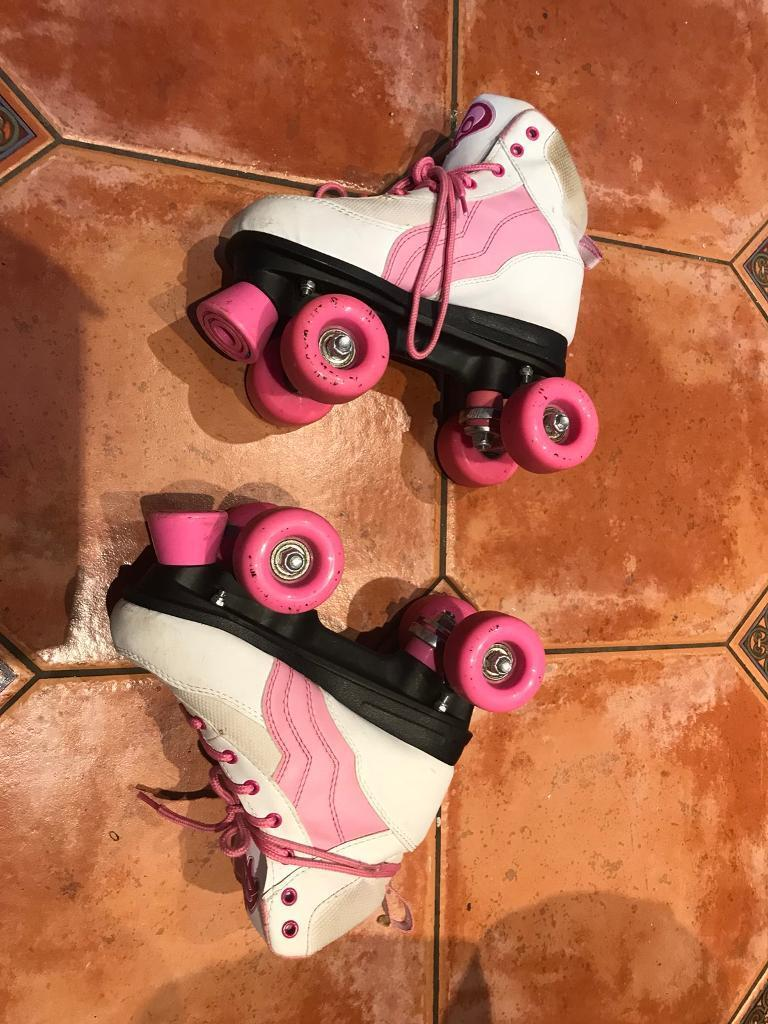 Size 2 Roller Skates - good condition.