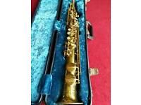 Martin Soprano vintage Saxophone