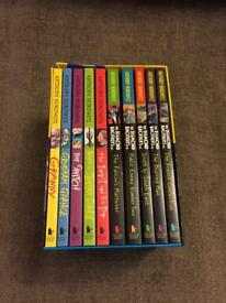 Anthony Horowitz box set of 10 books - unread