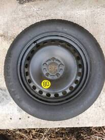 Spare space saver tyre brand new size 125/85/16