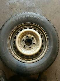 Mercedes sprinter 16inch wheel and tyre
