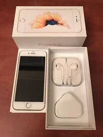 iPhone 6s Gold 128GB - Unlocked - Excellent condition